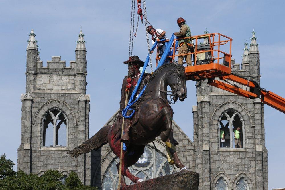 SPLC: At least 160 Confederate symbols taken down in 2020 - TheGrio