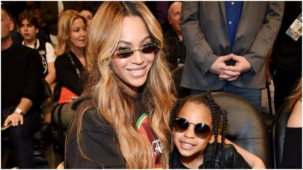 Blue Ivy joins mom Beyonce in new Ivy Park campaign