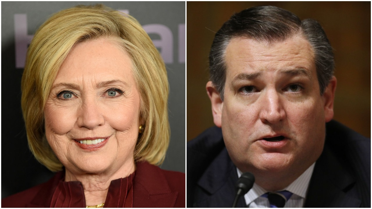 Clinton shades Cruz with perfect one-liner