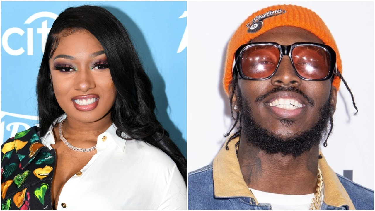 Megan Thee Stallion responds to rumors she's dating Pardison Fontaine