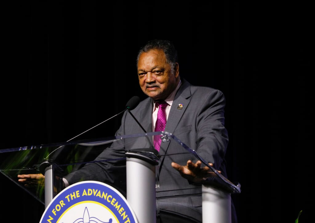 Lawmakers And Presidential Candidates Attend NAACP National Convention