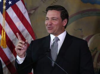 Newly Sworn-In Florida Governor Ron DeSantis Makes Announcement Regarding Florida Supreme Court In Miami