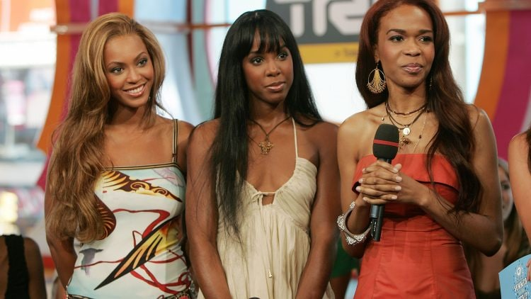 MTV TRL With Lindsay Lohan, Justin Long And Destiny's Child