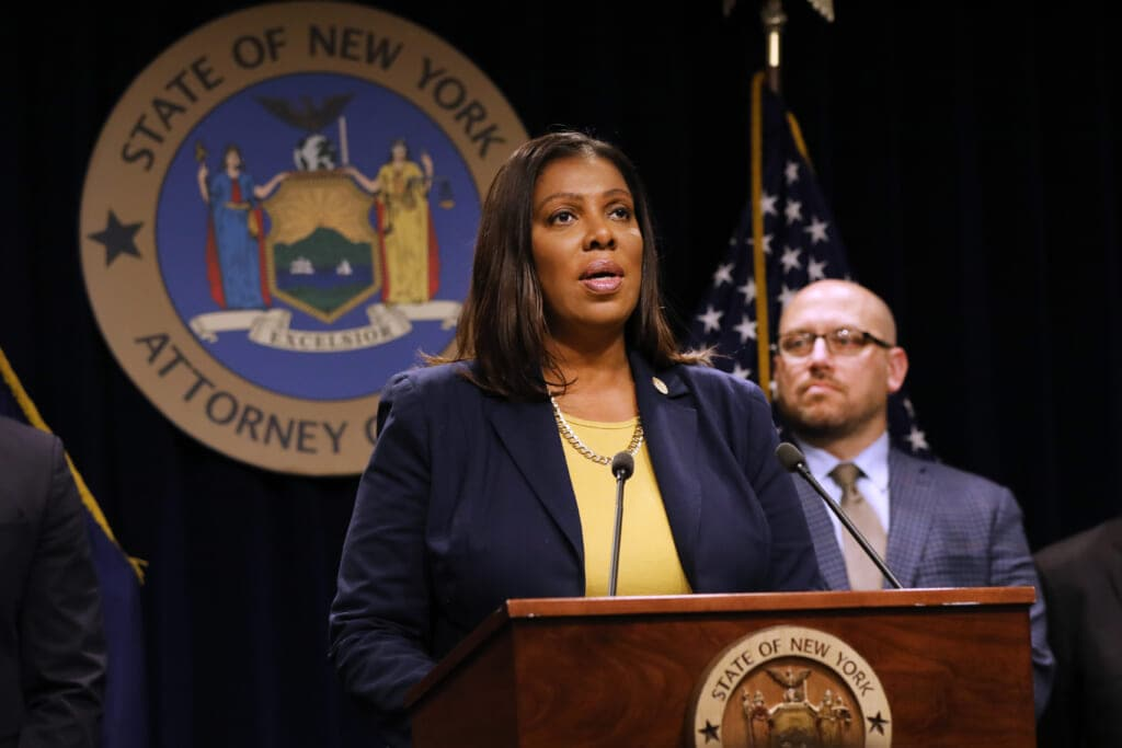 Letitia James thegrio.com