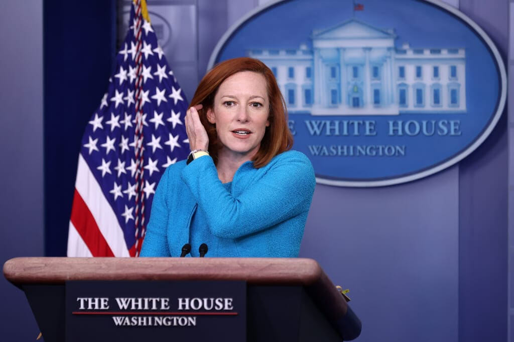 White House Press Secretary Jen Psaki Holds Daily Briefing