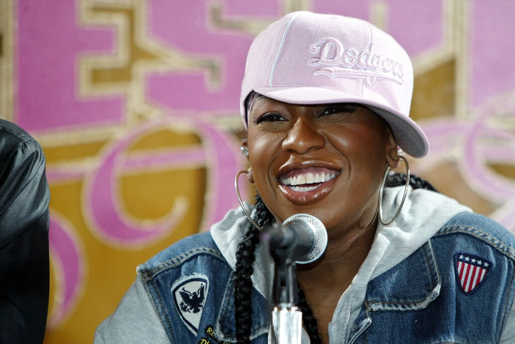 Missy Elliott Press Conference On Partnership With Adidas