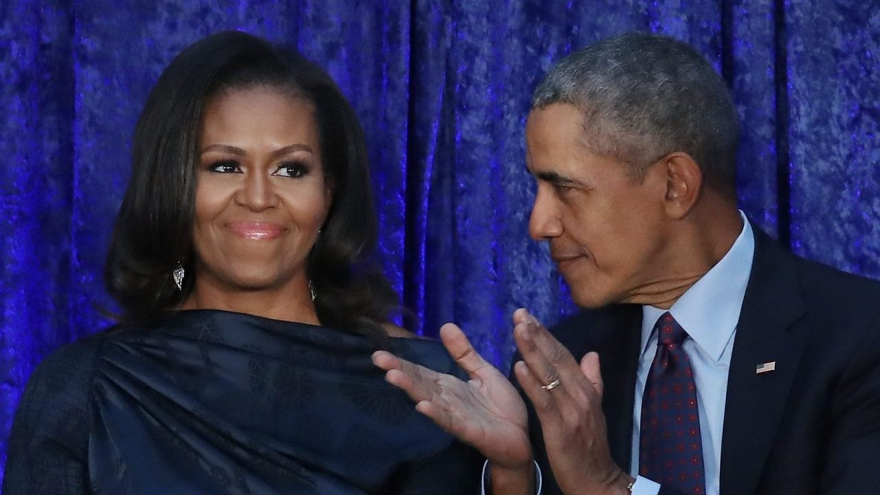 Michelle Obama: Barack and I 'can't get a word in' with Sasha, Malia - TheGrio