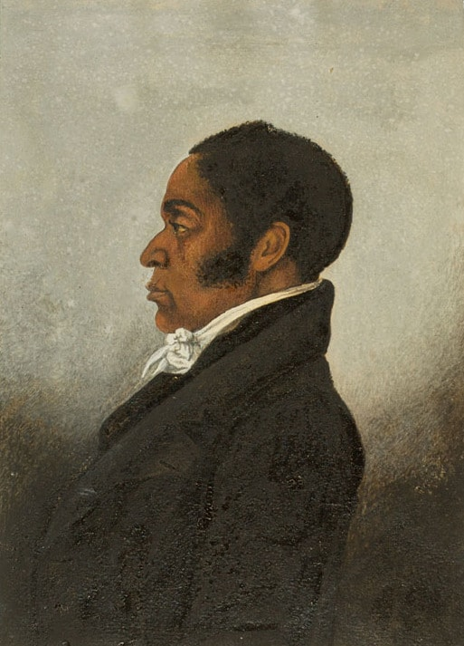 Portrait identified as James Forten, oil on paper probably by the African American artist Robert Douglass, Jr., ca. 1834. Courtesy of the Historical Society of Pennsylvania. thegrio.com