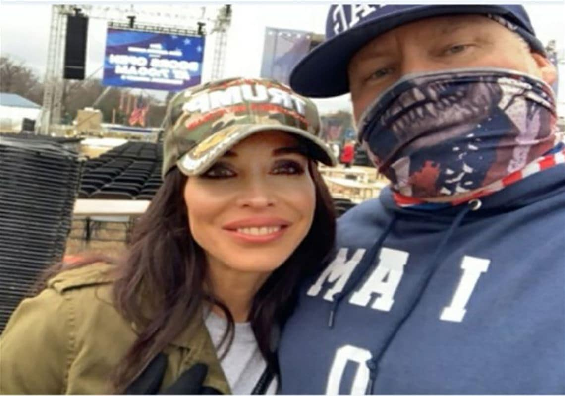 Detective files for divorce after wife pictured at Capitol riots with another man - TheGrio