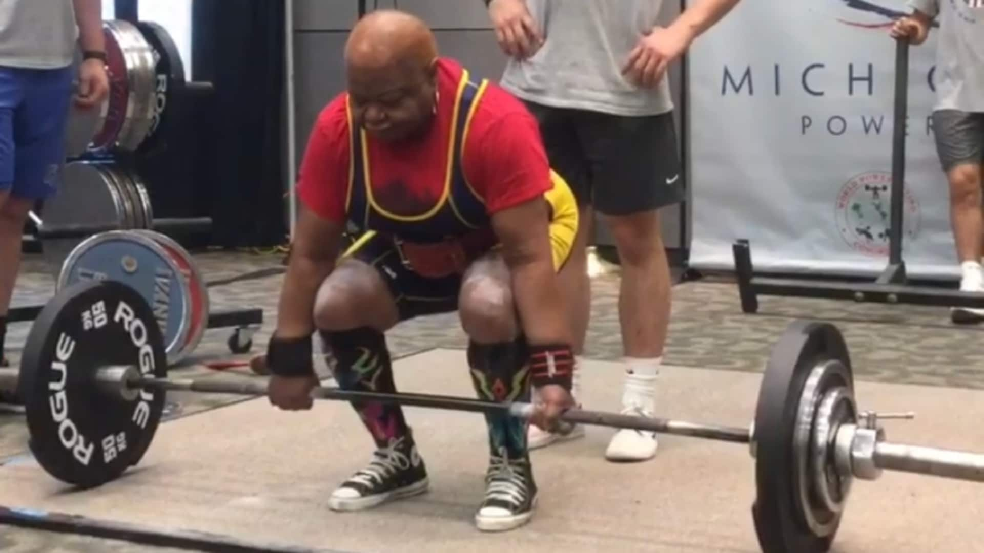 Detroit woman, 78, sets 19 world records for powerlifting – TheGrio