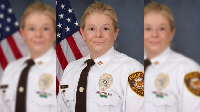 New St. Louis Police Chief Mary Barton