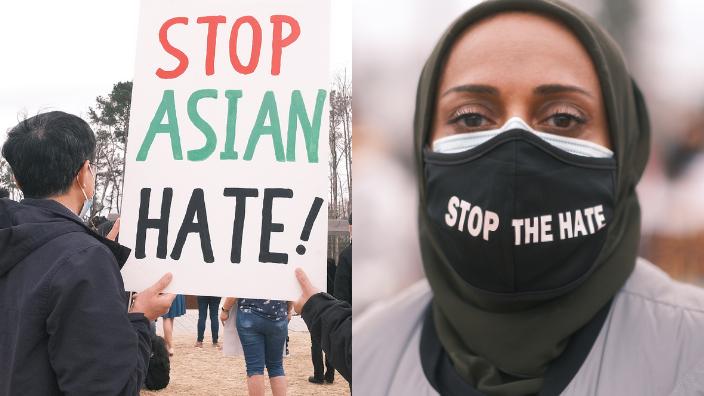 Anti-racism protest