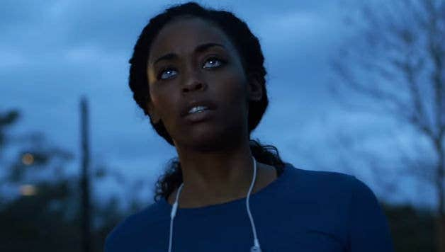 "Nafessa Williams stars in ""Black Lightening."""