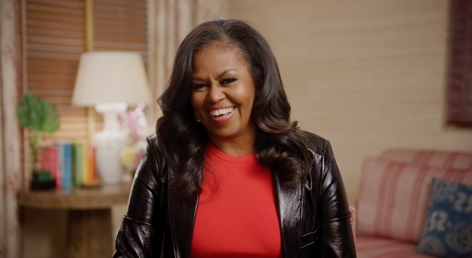 Michelle Obama reacts to Kimmel's 'sick' question about sex life with Barack - TheGrio