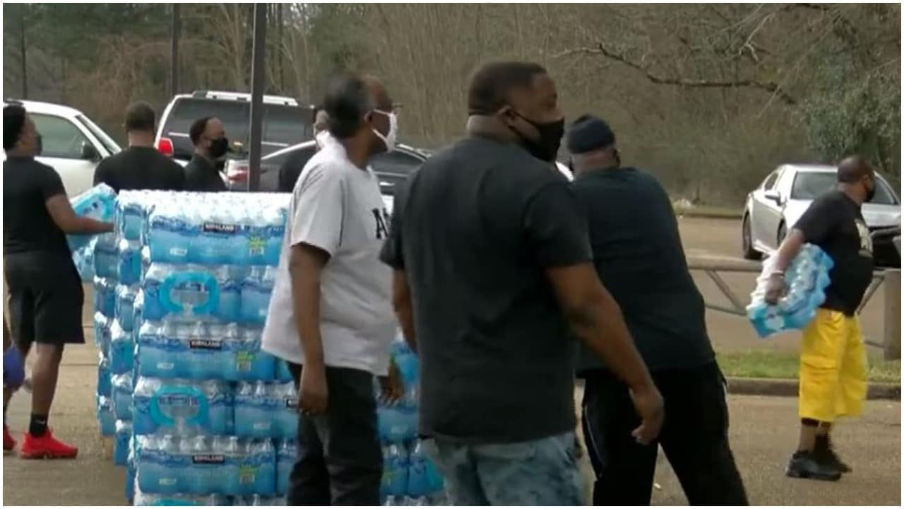 Mississippi has gone 2 weeks without safe drinking water since storm