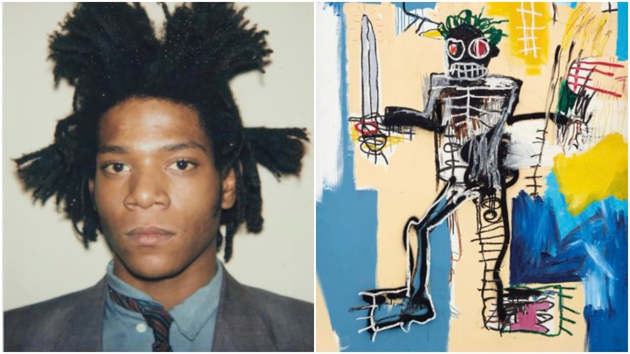 Jean-Michel Basquiat painting auctioned for $41.9 million
