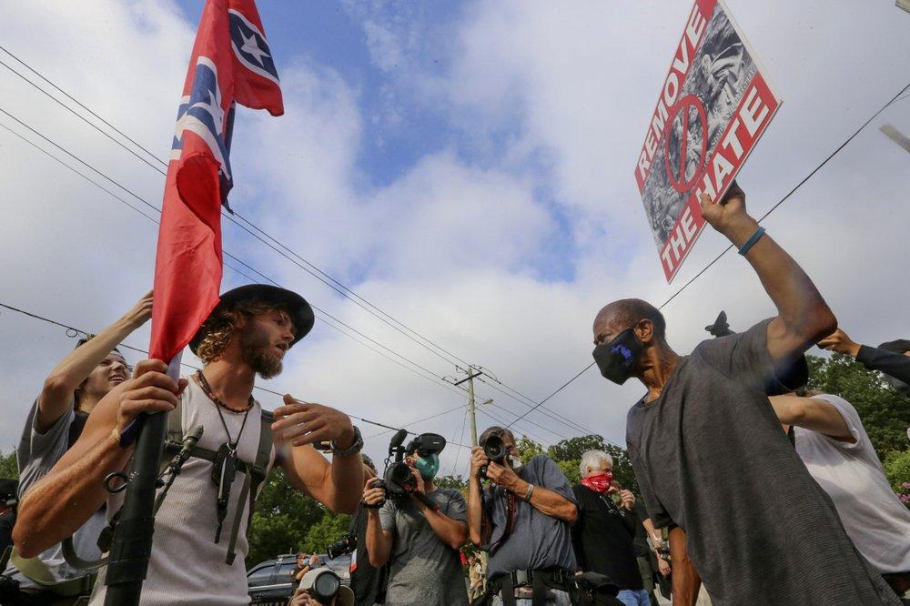 White supremacist propaganda surged in 2020, report says - TheGrio