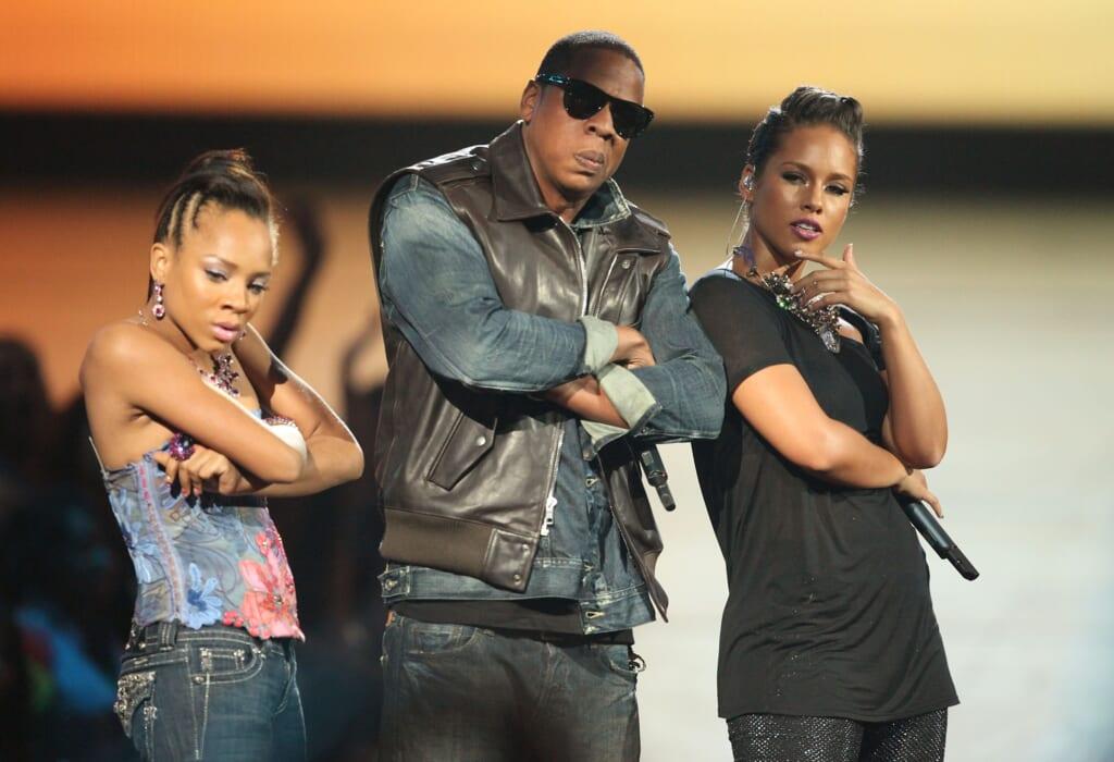 Lil Mama Jay-Z Alicia Keys thegrio.com