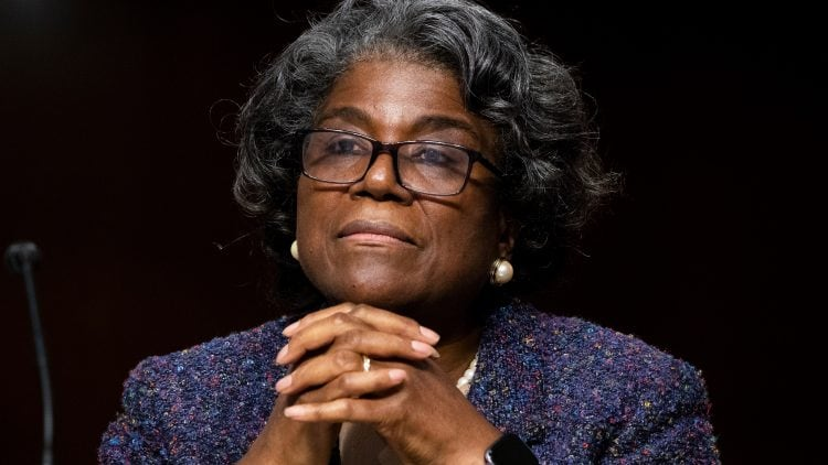 Senate Foreign Relations Committee Examines Nomination Of Linda Thomas-Greenfield For UN Ambassador