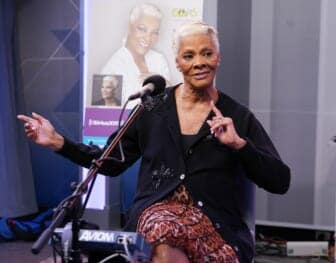 Dionne Warwick Performs On SiriusXM's Soul Town Channel At The SiriusXM Studios