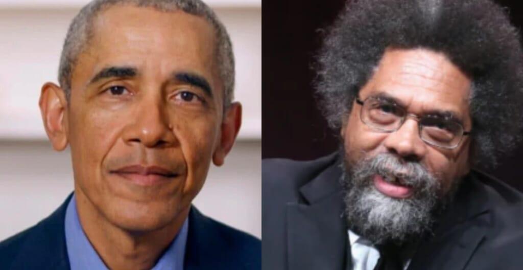 Barack Obama Cornel West thegrio.com