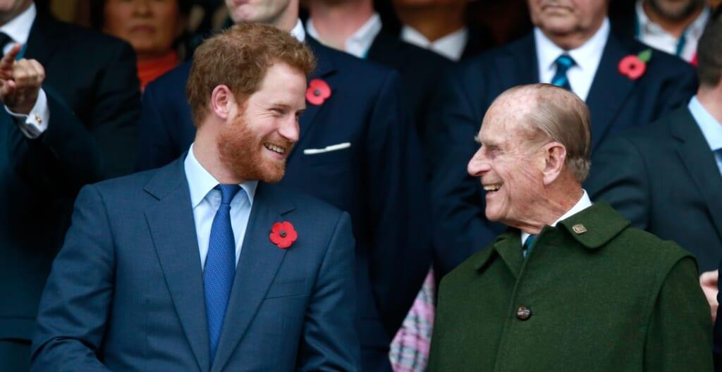 Prince Harry Prince Philip thegrio.com