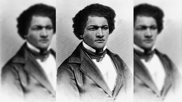 Frederick Douglass (1818 - 1895), 1850s.