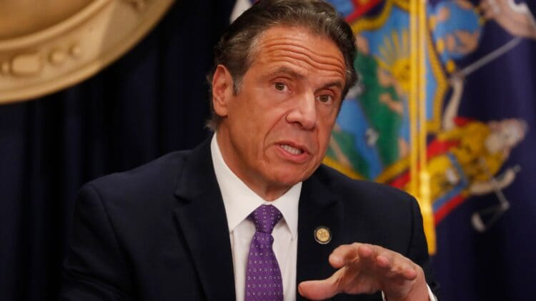 New York Governor Cuomo Holds Covid Briefing