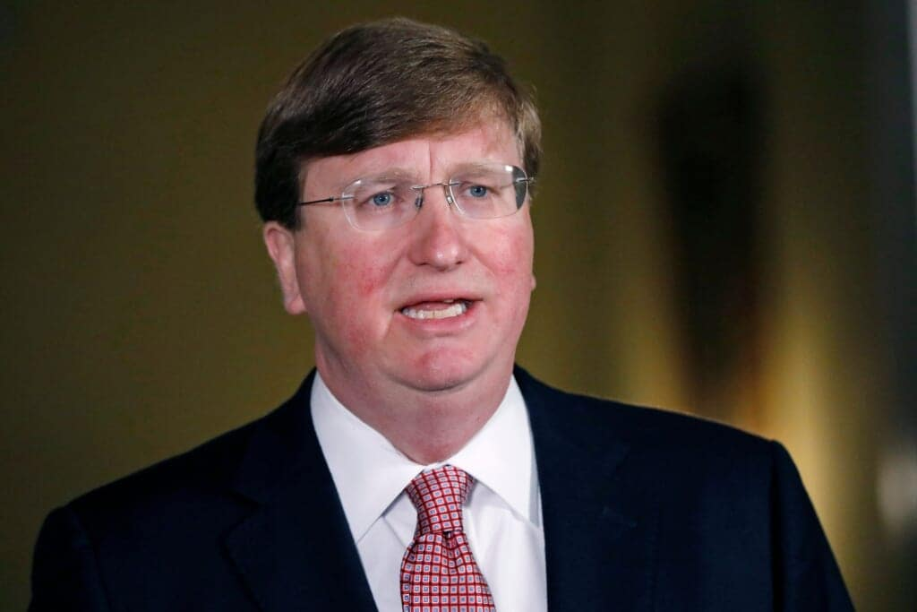 Mississippi Gov. Tate Reeves  thegrio.com