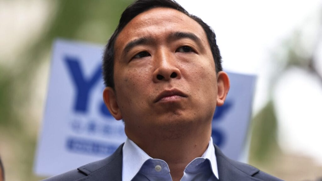 New York City Mayoral Candidate Andrew Yang Receives Endorsement And Rallies Supporters