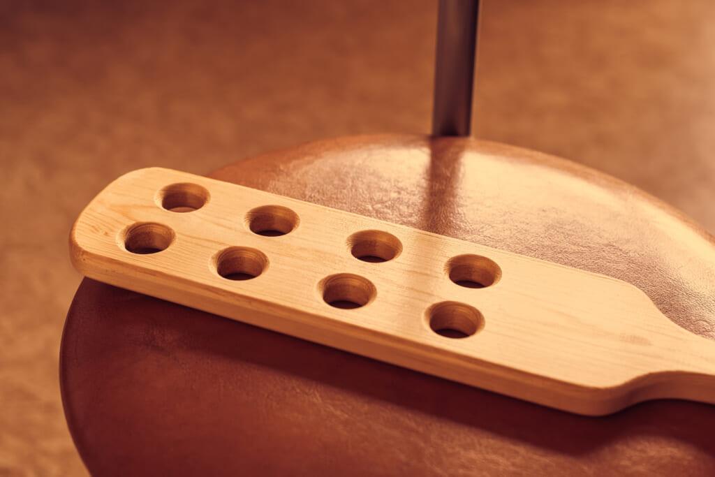 Wooden paddle x theGrio