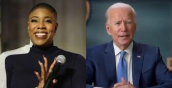 Symone Sanders Joe Biden thegrio.com