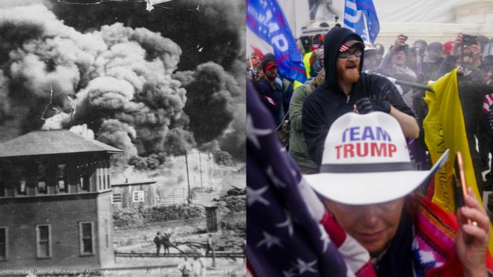 Tulsa Race Massacre x Capitol Riot x theGrio.com
