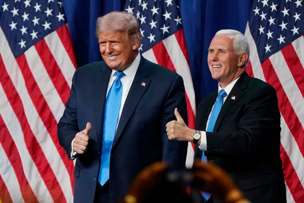 Donald Trump Mike Pence thegrio.com