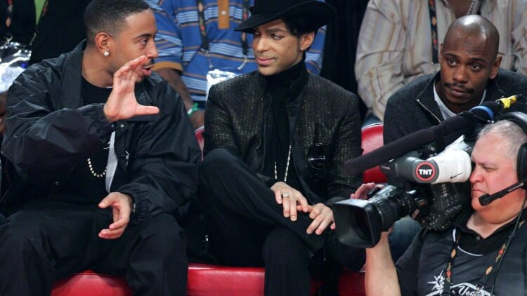 Celebrities At 2007 NBA All Star Game