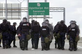 Savannah-Chatham Metropolitan Police Department Train For G-8