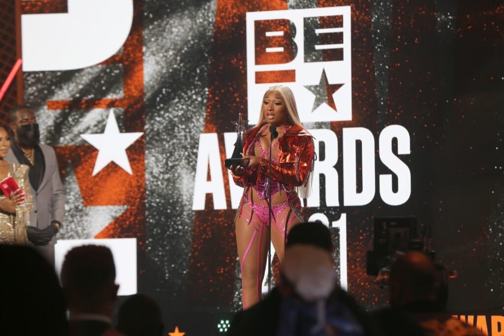 BET Awards 2021 Megan thee Stallion thegrio.com
