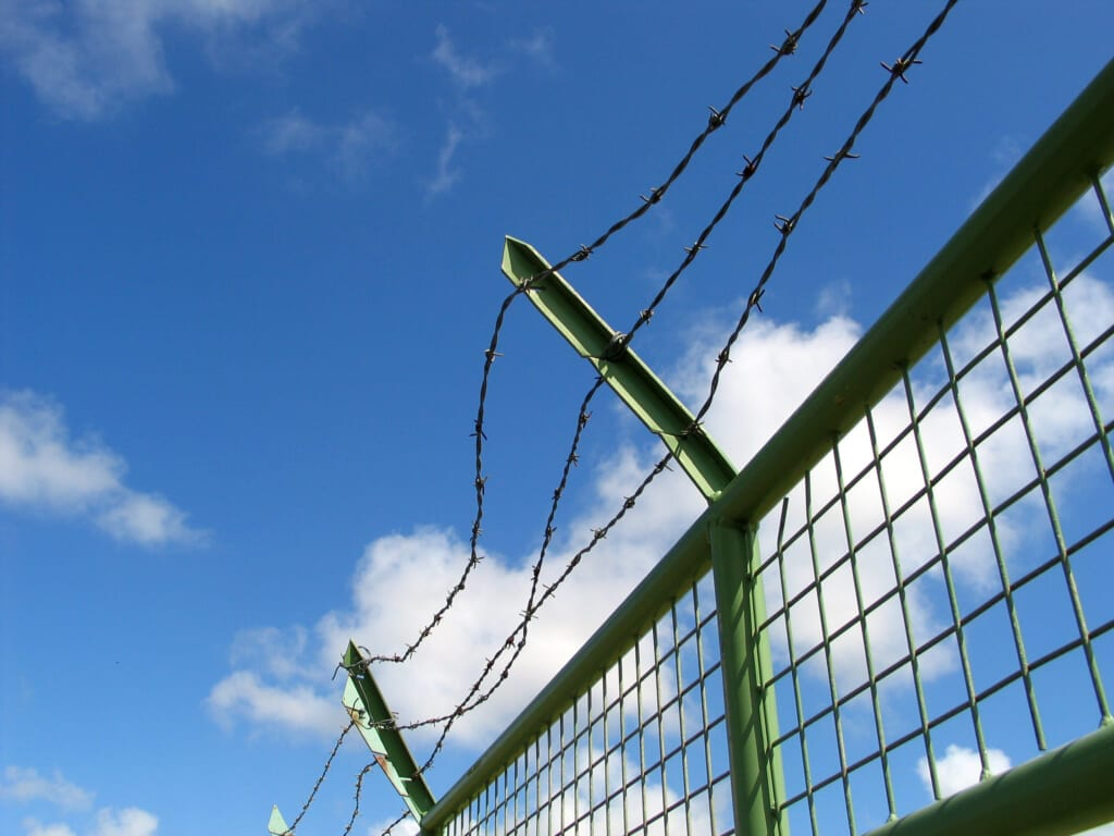 Jail fence Adobe Stock