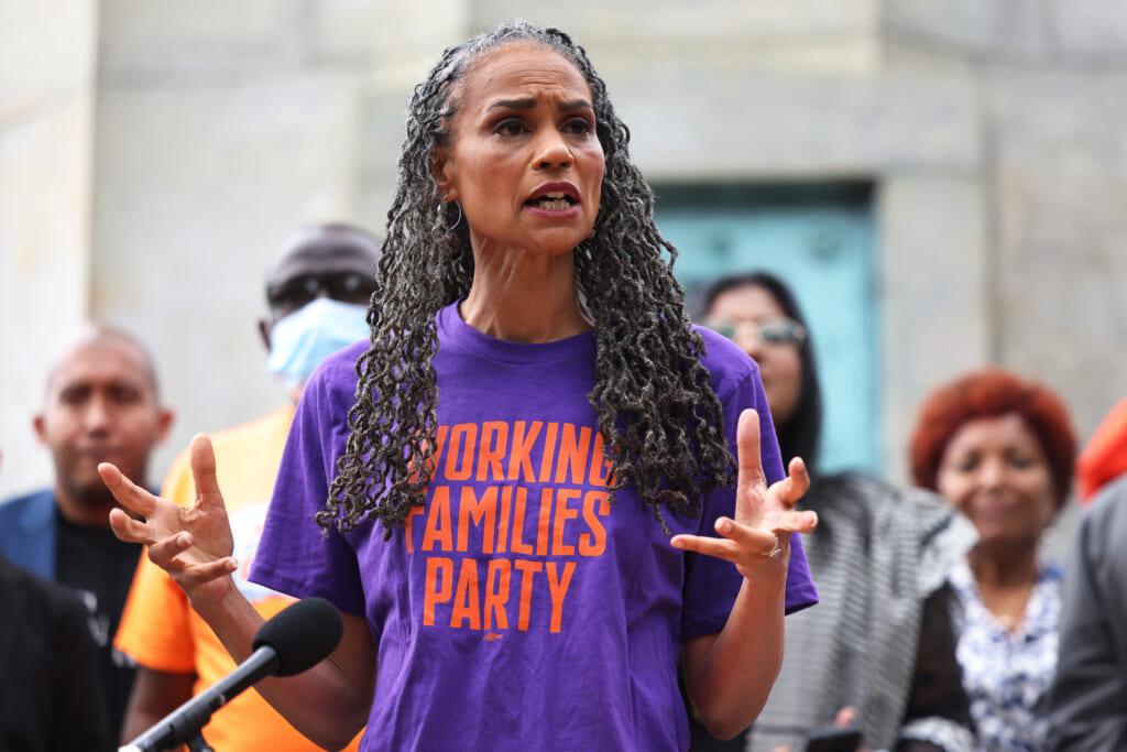 NYC Mayoral candidate Maya Wiley