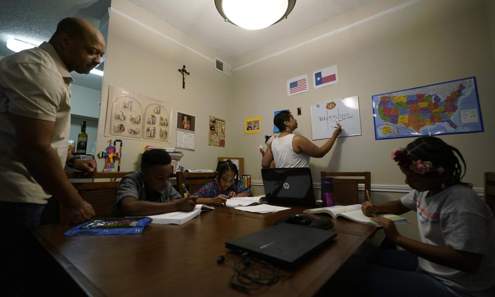 Sparked by pandemic fallout, homeschooling surges across US