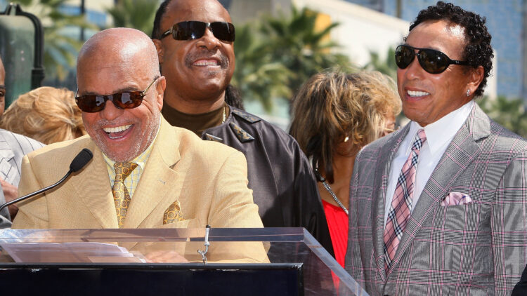 The Miracles Honored At The Hollywood Walk Of Fame