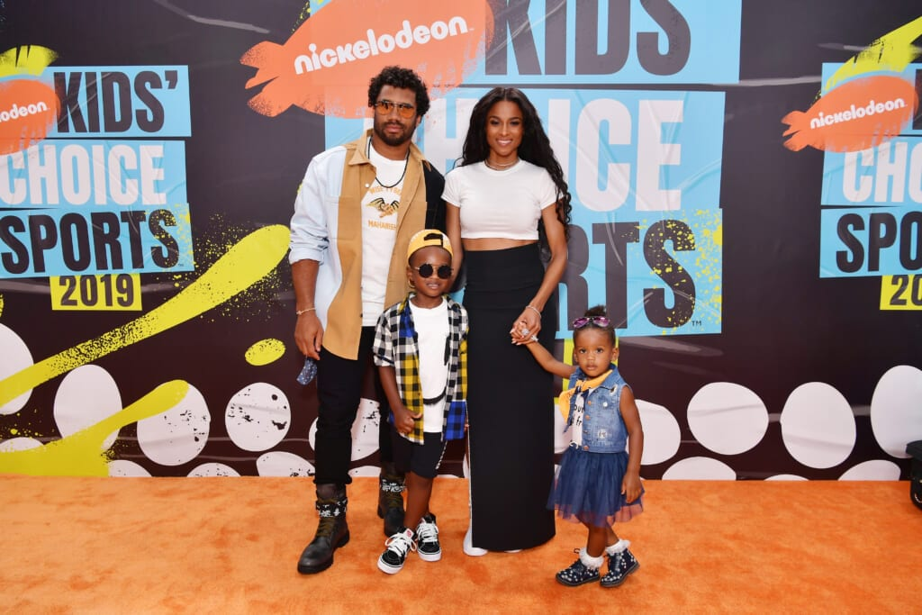 Ciara and Russell Wilson celebrate their son's first birthday with a 'Rookie of the Year' party
