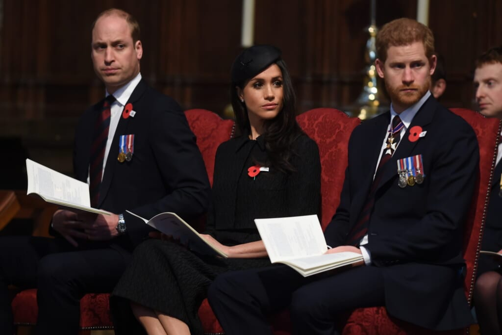 Prince William, Duke of Cambridge, Meghan Markle and Prince Harry