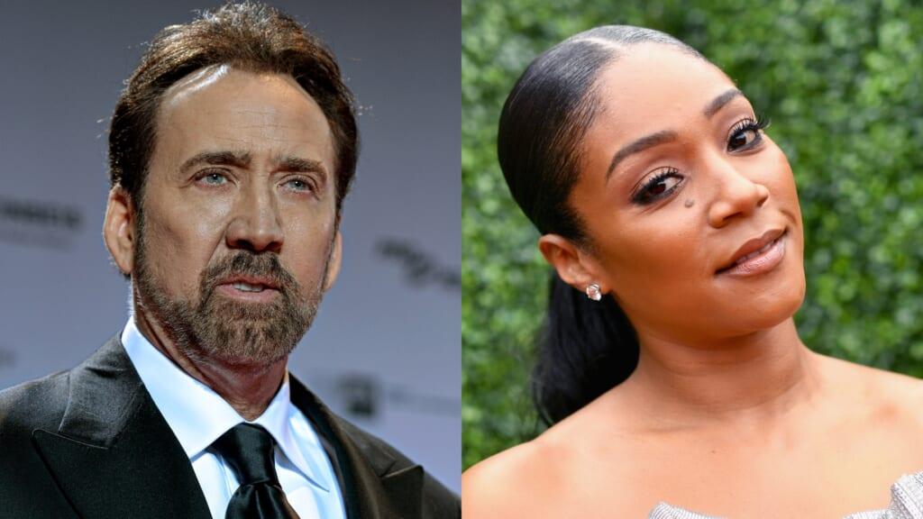 Nicolas Cage Tiffany Haddish thegrio.com