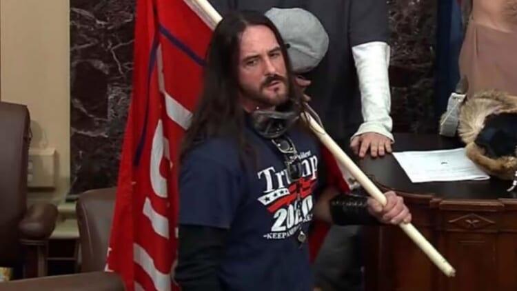Capitol rioter Paul Hodgkins