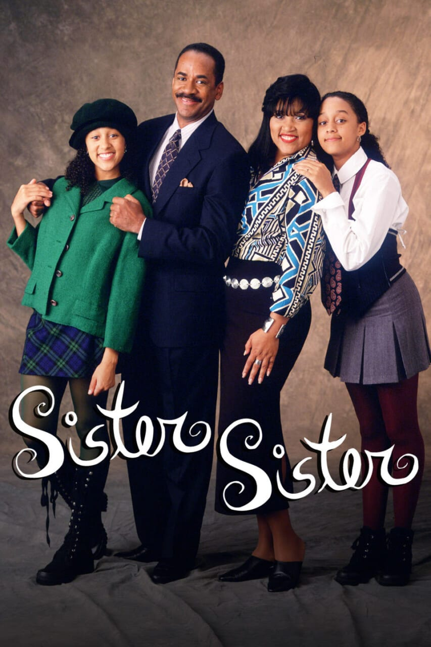 Sister, Sister TV Show poster (Paramount Network Television) thegrio.com