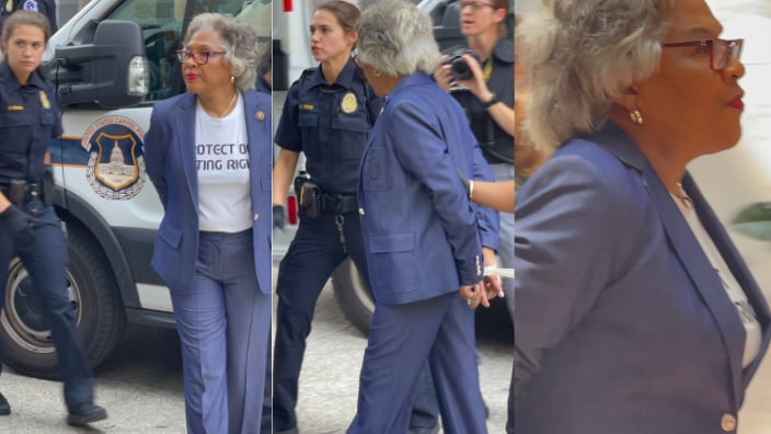 Rep. Joyce Beatty arrested by Capitol police
