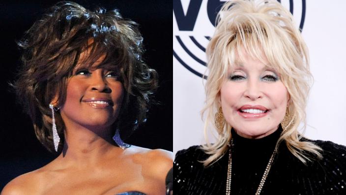 Whiteny Houston and Dolly Parton, theGrio.com