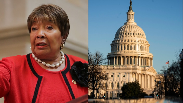 Rep. Eddie Bernice Johnson x U.S. Capitol, theGrio.com