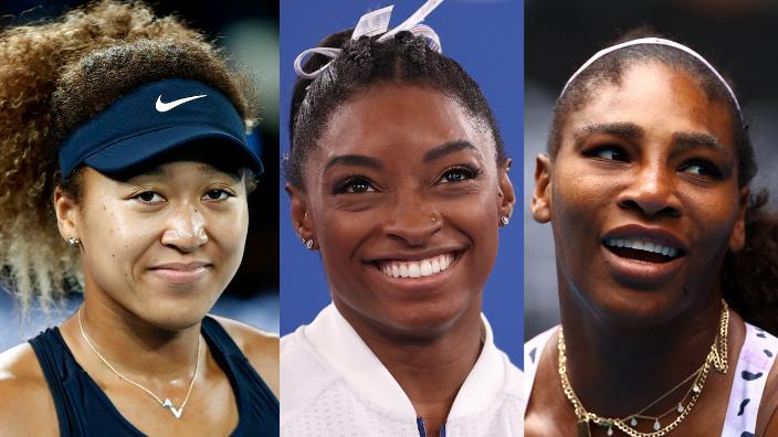 Naomi Osaka, Simone Biles and Serena Williams, theGrio.com